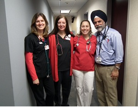 Crystal Run Healthcare Raises Over $1,900 For American Heart Association's Go Red For Women